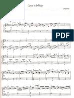 Canone Em D Maior - Pachenbel (Piano)