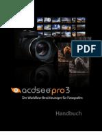 acdsee pro3 Userguide german