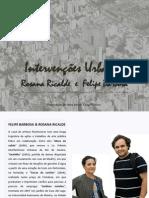 data show - Rosana Ricalde-Intervenções Urbanas parceria com Felipe Barbosa - por Célia Ribeiro