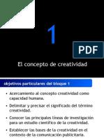 El Concepto de Creatividad 10744