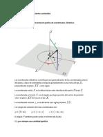 Coordenadas Cilindricas y Esfericas e Integrales Multiples