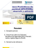 Informes Pêriodicos de Seguridad