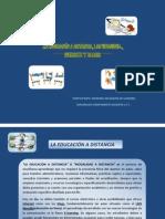 EDUCACIÓN A DISTANCIA, WEBQUEST,WEBSITE Y BLOG