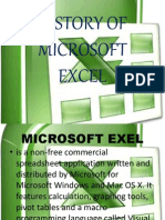 History of Microsoft Excel