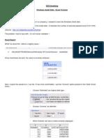OCS Install Date Excel En
