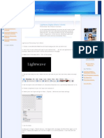 Lightwave Photoshop Text Effect