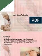 Measles (Rubeola)