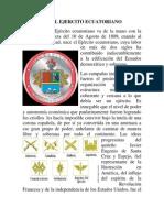 Historia Del Ejercito Ecuatoriano