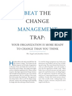 Change Management Trap