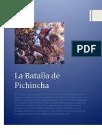 La Batalla de Pichincha Calderon