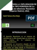 Criterios Para La Exploracion de Depositos Tipo Porfidos