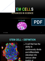 Stem Cells and Progress of Science