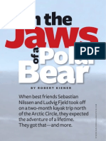 In The Jaws Of a Polar Bear