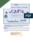 eCARTO Newsletter September 2011 MSIA