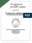 Rockdale County GA P25 Upgrade RFP-08192011