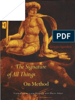 Agamben Giorgio the Signature of All Things. on Method