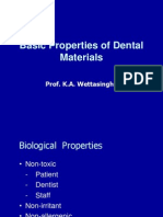 Basic Properties of Dental Materials