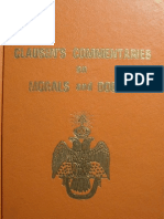 Clausen s Commentaries on Morals and Dogma