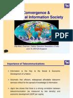 Convergence & Global Info Society