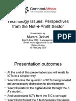 ICT4Developement_TechnologyPerspectives