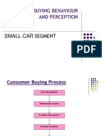Consumer Buying Behaviour and Perception in Small Car Segment