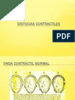 DISTOCIAS CONTRACTILES