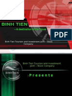 Binh Tien Tourism and Investment Joint – Stock