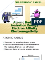 4. Elements Periodical Properties