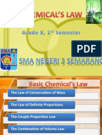 8. Basic Chemical's Law