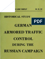 DA-PAM 20-242 German Armored Traffic Control During the Russian Campaign