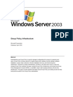 Group Policy Infra