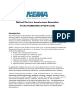 Cyber Security Position Statement