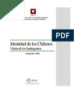 Informe Identidad Chilenos Vision de Los nos Sep 2006[1]