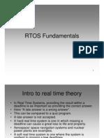 RTOS Fundamentals Slides