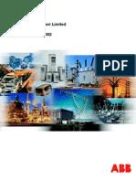 ABB India 2002 Annual Report
