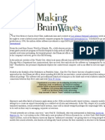 Making Brain Waves