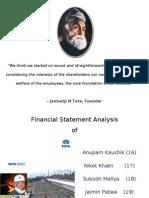 Tata Steel FSA - Final Presentation