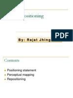 Brand Positioning and Branding Strategies by Rajat Jhingan