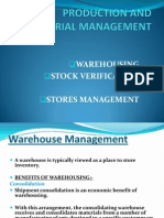 Production and Material Management Ppt