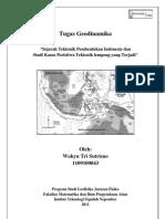 Sejarah Tektonik Pembentukan Indonesia