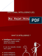 Emotional Intelligence - EI by Rajat Jhingan