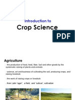 Introduction to Crop Science