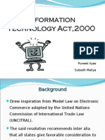Information Technology Act 2000
