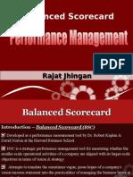 Balanced Scorecard by Rajat Jhingan
