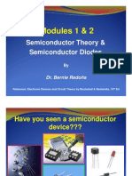 ECE101 Modules 1& 2 Semiconductor Theory Diode