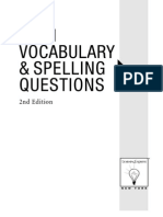 1001 Vocabulary & Spelling Questions
