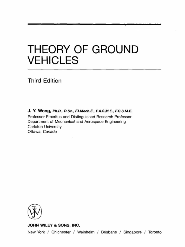 Theory Of Ground Vehicles By Jywong Tire Fig 2 Radialply Rotation Diagram
