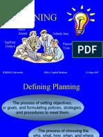 MTP Planning