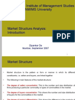 MBA-CM_ME_Lecture 13 & 14 Market Structure Analysis I