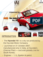 Hyundai i10 market positioning and scope Analysis